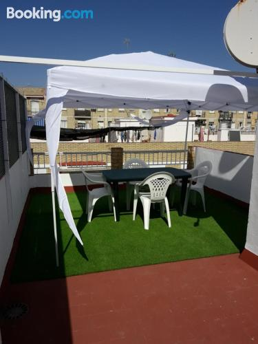 One bedroom apartment in Seville. Family friendly apartment!