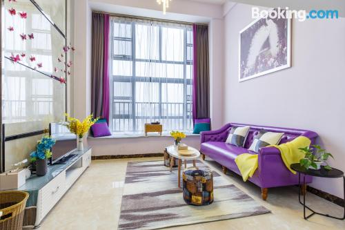 1 bedroom apartment home in Guangzhou with wifi.