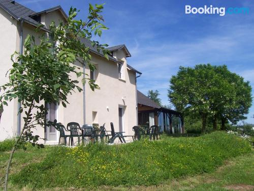 Home for two people in Najac with terrace