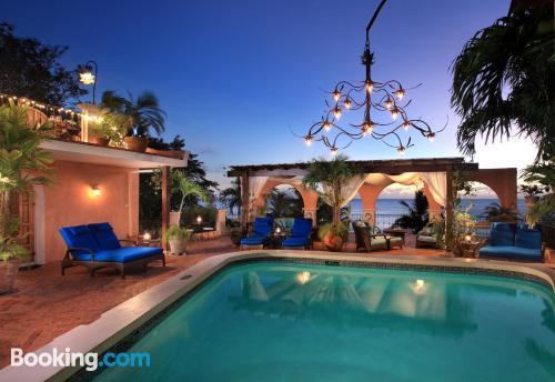 32m2 de apartamento con piscina