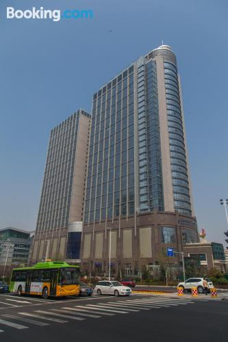 Place in Qingdao. Internet!