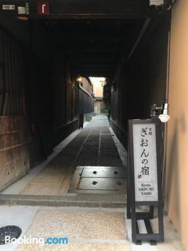 Apartamento en Kioto con internet.