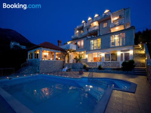 2 bedroom place in Cavtat. Swimming pool!