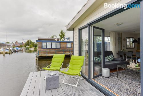 Comfy apartment in Aalsmeer with terrace.