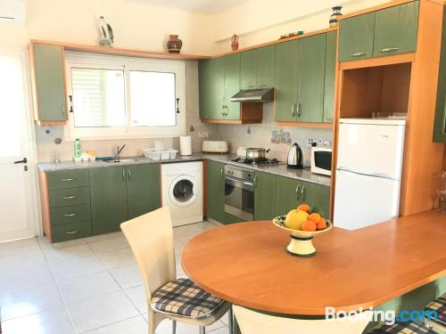 Huge home with 2 rooms in Mazotos.