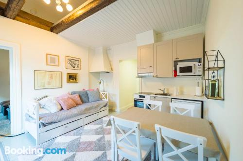 One bedroom apartment with wifi and terrace.