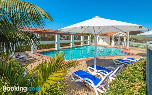Home in Yamba with internet and terrace