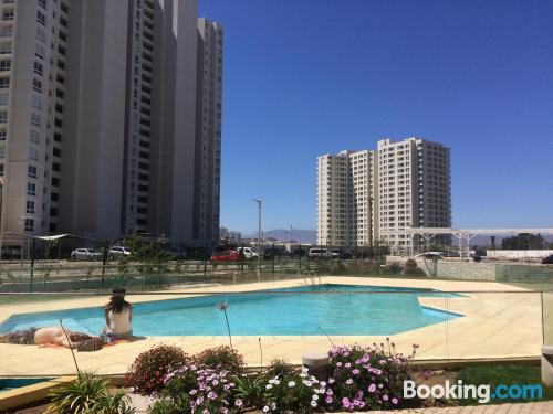 Apartamento de 50m2 en Coquimbo con piscina
