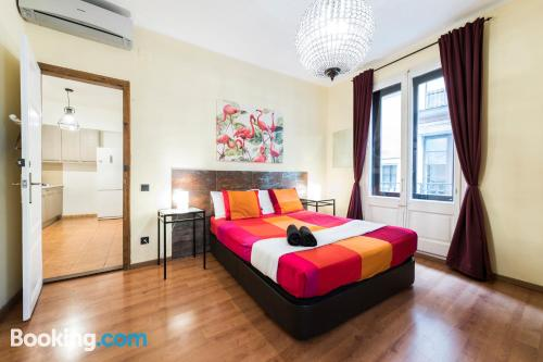 One bedroom apartment in Barcelona with internet