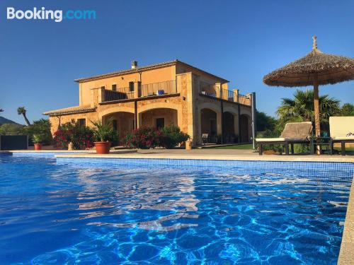 Stay cool: air apartment in Llucmajor. For couples