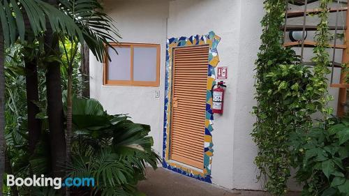 Apartamento con piscina y aire acondicionado en Acapulco