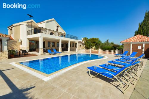 Terrace and internet home in Protaras. 400m2!