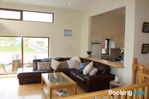 Home in Enniscrone. Convenient for 6 or more