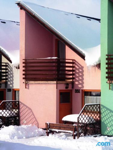 Cómodo apartamento en Liptovský Mikuláš con internet y terraza