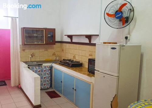 Home for 2 people in Pereybere with terrace and wifi.