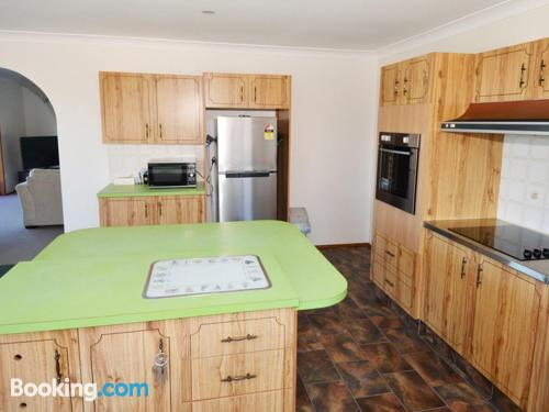 Apartamento pet friendly en Gerringong. Ideal para cinco o más.