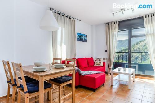 Spacious apartment in Soldeu. Convenient!