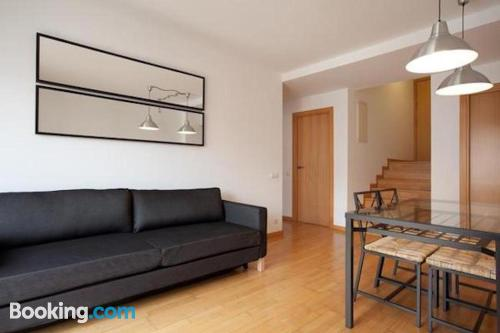 Spacious apartment in Barcelona for 6 or more