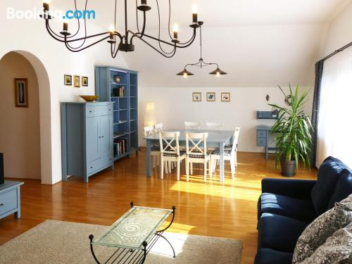 Two bedroom place in Radovljica. Be cool, there\s air!