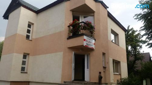 Place for 2 in Zarasai with internet.