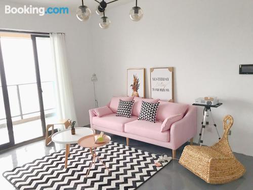 Apartamento de 119m2 en Qingdao. ¡Internet!