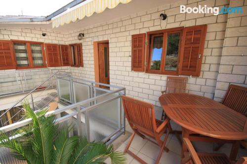 Place with terrace in superb location of Split.