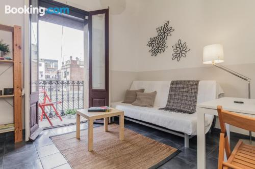 One bedroom apartment in Barcelona for two