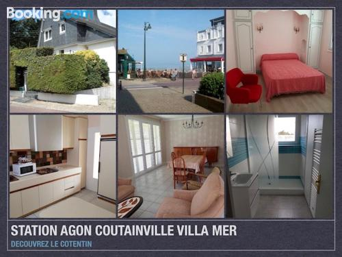 In Agon Coutainville. 150m2!.