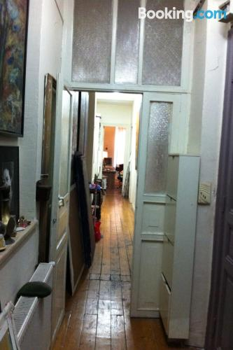 Apartment for two people in Istanbul with wifi.