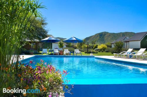 Apartamento apto para familias en Villa General Belgrano ¡Con terraza!