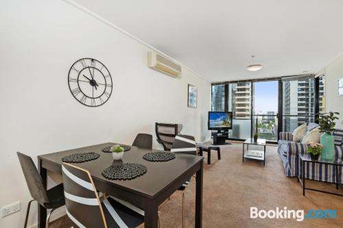 1 bedroom apartment apartment in Melbourne. Good choice!.