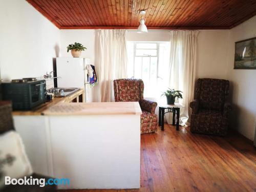 Hogsback place with terrace and wifi.