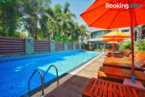 Apartment in Phuket Town with terrace!.