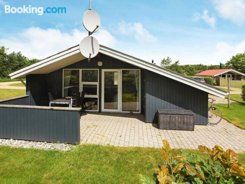 Spacious home in Hemmet with terrace