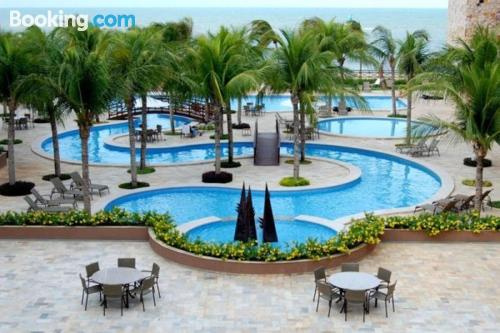One bedroom apartment in Caucaia with air-con