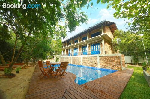 Home for couples with swimming pool and terrace