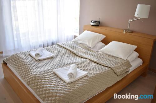 Amplio apartamento de dos dormitorios en zona centro de Ustroń