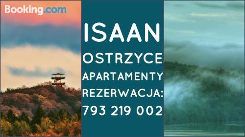 Large place in Ostrzyce. Wifi!