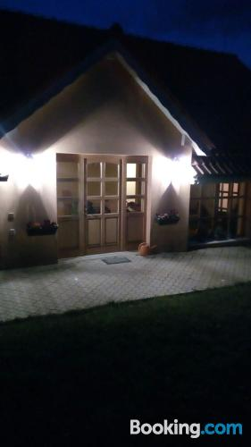 Terrace and internet home in Brezno good choice for 6 or more.