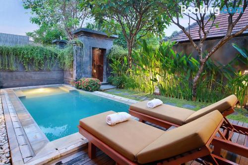 Apartamento con piscina. ¡Perfecto!