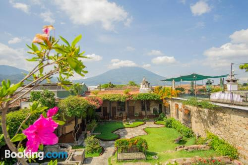 Apartment for two in Antigua Guatemala with wifi and terrace