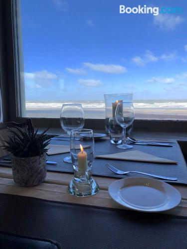 Apartment for couples in best location of De Haan