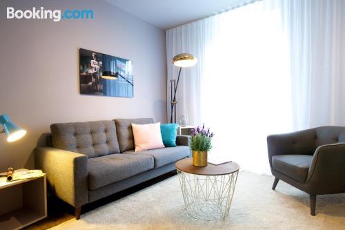 Apartamento de una habitación en Solna. ¡Internet!