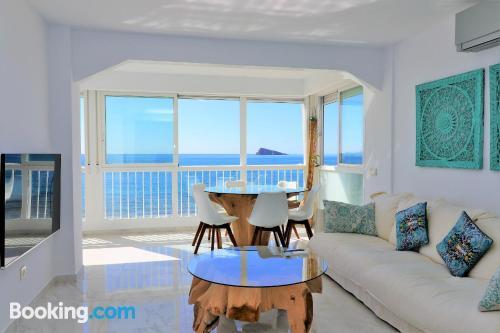 Amplio apartamento en Benidorm con vistas