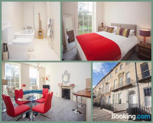 Apartment in Bath with heating