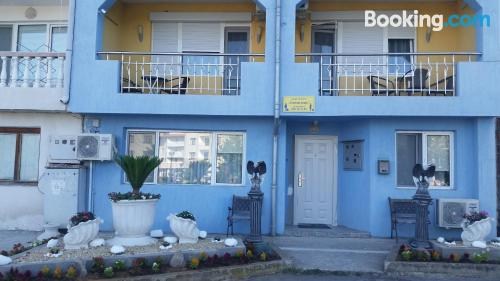 Apartamento para familias con niños en zona centro en Tsarevo.