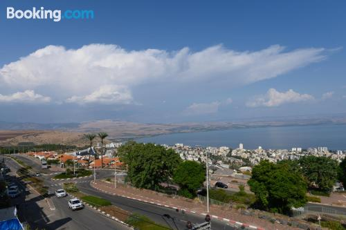Huge home in Tiberias good choice for families.