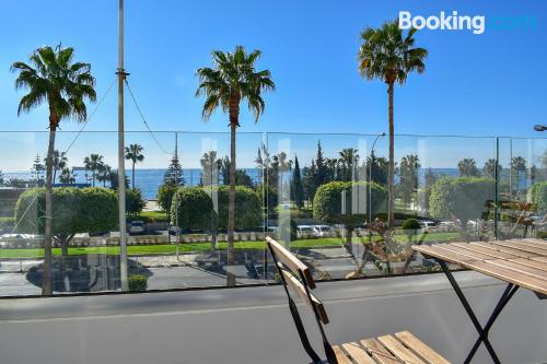 2 bedroom place in Limassol. Convenient for 6 or more