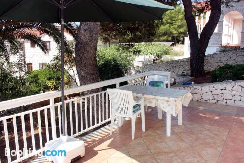 Home with terrace in incredible location of Sumartin