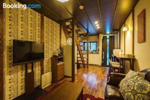 Gran apartamento en Osaka de tres dormitorios.